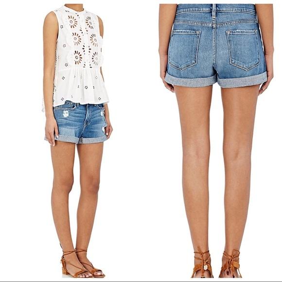 25394f1f94 Frame Denim Pants - Frame Denim Le Cutoff Cuff Denim Shorts